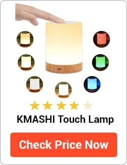 KMASHI Touch Lamp Review