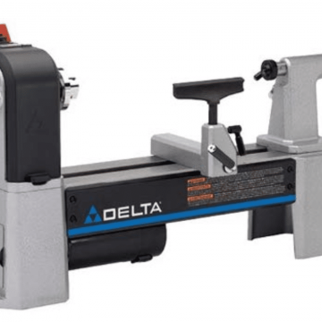 Delta Industrial 46-460 12-1_2-Inch Variable-Speed Midi Lathe